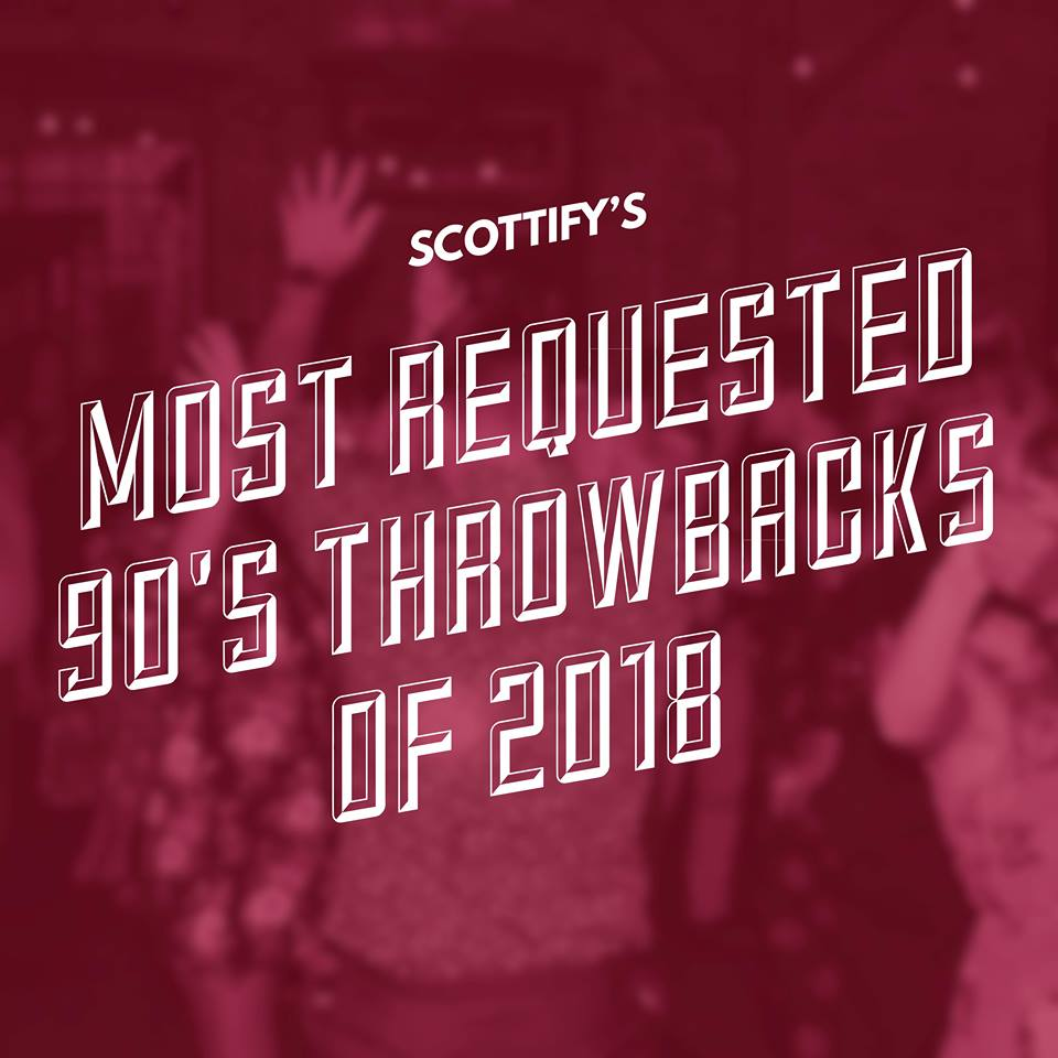 Most Requested 90's Throwbacks of 2018