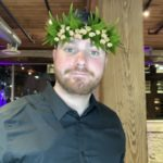 Nathan showing off his AR Plant Based Crown