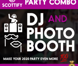 DJ And Photo Booth Combo